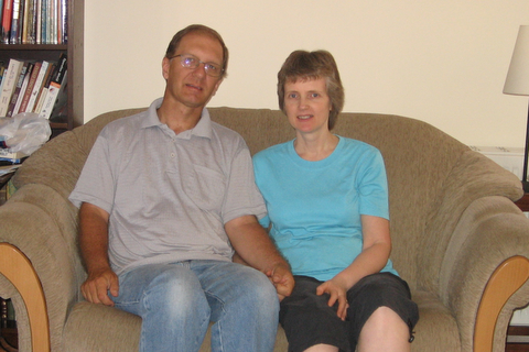 Richard and Sue, the 'aged parents'