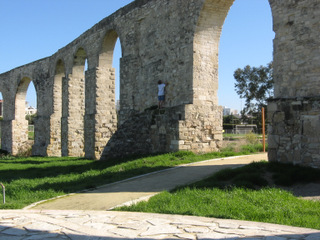 The aqueduct in Larnaka