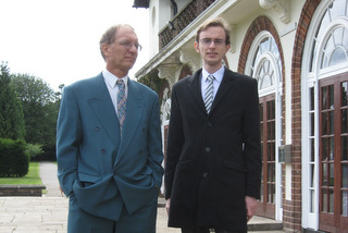 Richard and Tim at our goddaughter's wedding