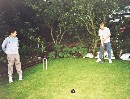 Still in the UK, and a game of croquet on some green grass